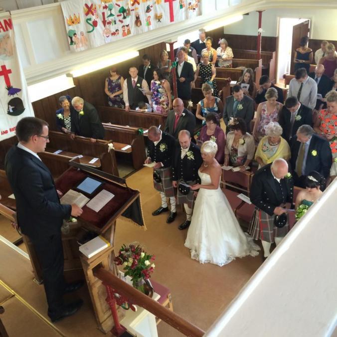 Noddfa Wedding